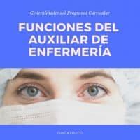 funciones del auxiliar de enfermería