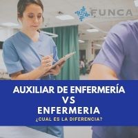 Auxiliar de enfermeria vs Enfermero