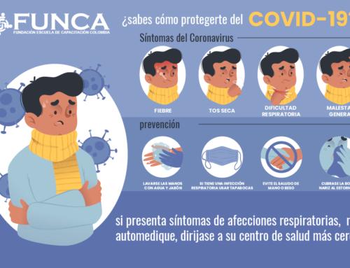 ¿Sabes cómo protegerte del COVID-19?